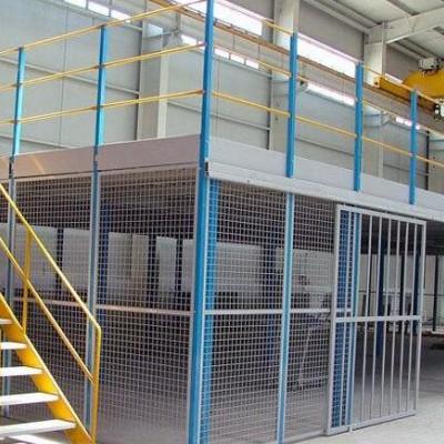 杭州荣勒重型钢平台,钢结构平台,组装钢平台