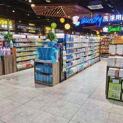成都超市货架 货架厂家 钢木货架