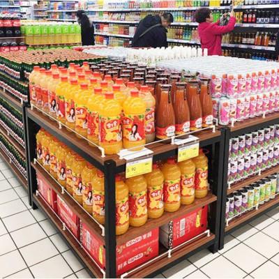 超市展示架子 便利店堆头 粮油店三层堆 货架生产厂
