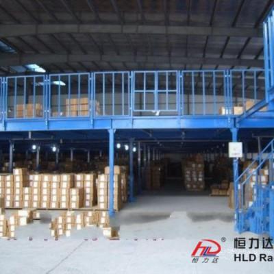 钢平台货架生产厂家 阁楼平台 钢平台货架 恒力达货架