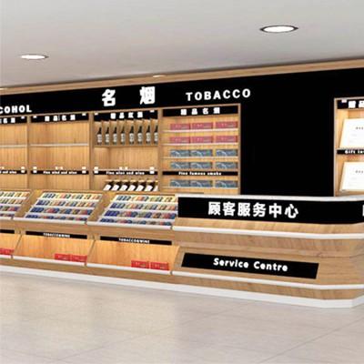 智豪华昌收银台 超市服务台多功能柜台定制厂家