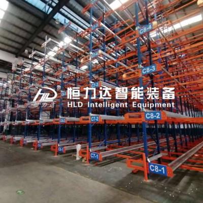 穿梭式货架 密集存储半自动化货架可定制批发
